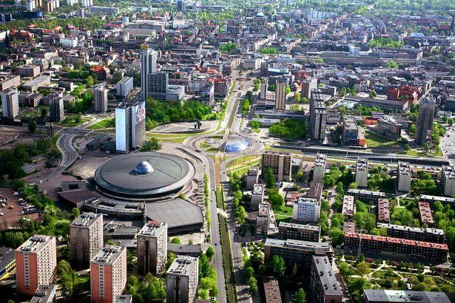 COP24 will take place in Katowice, Poland. Photo by Umkatowice/Wikimedia Commons
