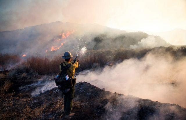 Wildfires in California. Photo by Stuart Palley/U.S. Forest Service