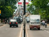 Pontianak traffic near Kapuas bridge in West Kalimantan, Indonesia / Credit: Ramadian Bachtia/CIFOR
