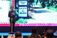 President Joko Widodo launched the One Map Policy Geoportal. Photo Credit: Cabinet Secretary of the Republic of Indonesia