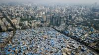 Informal settlements at the edge of Mumbai, India. Photo by Johnny Miller/Unequal Scenes