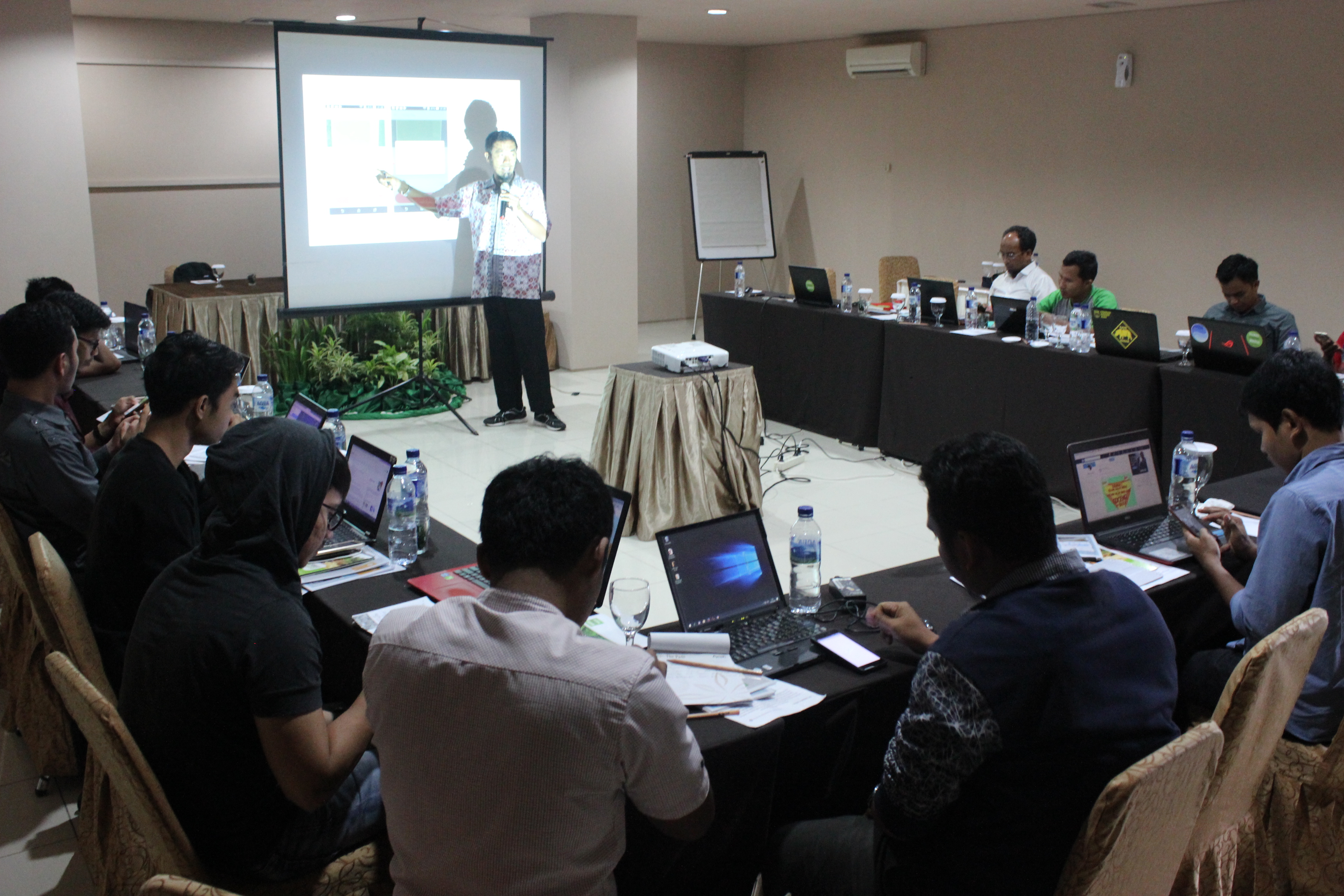 <p>Pelatihan Global Forest Watch, Aceh, 28 Februari-2 Maret 2018. Foto: Umi Purnamasari/WRI Indonesia</p>